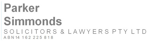 Parker Simmonds Solicitors Lawyers Logo